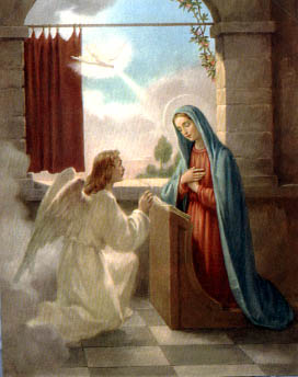 img HE ANNUNCIATION of our Lady