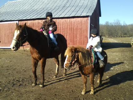 girls riding