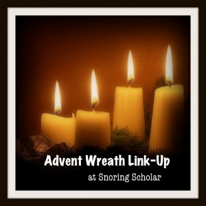 Advent Wreath Link-Up at Snoring Scholar