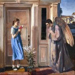 """The Annunciation,"" by John Collier"
