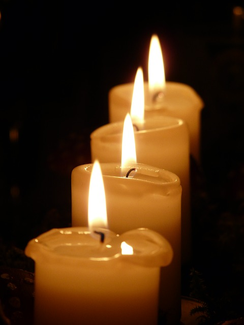 fourth week of advent love candle
